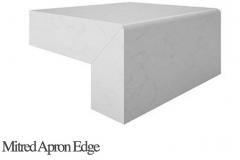 Mitred Apron Edge