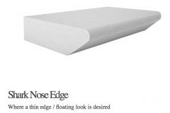 Shark Nose Edge