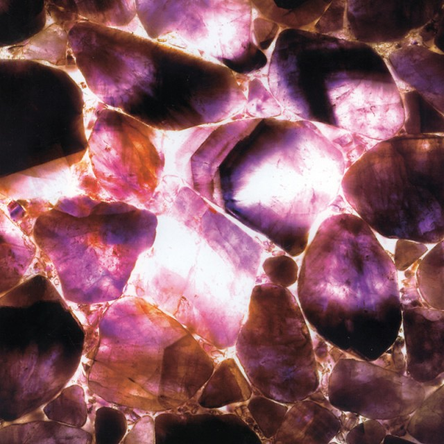 Amethyst 3 Stone Finish