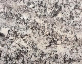 Bianco Antique Polished Stone Benchtop Finish