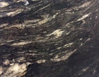 Cosmic Black Polish Stone Benchtop Finish
