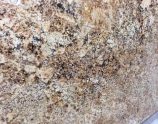 Giallo Tasila Polished Stone Benchtop Finish