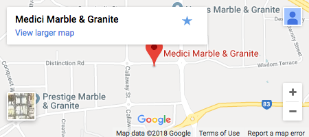 Medici Marble & Granite Map