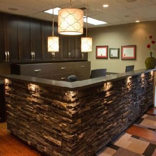 Stone Reception Desks